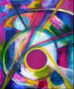 Pink Point , Acryl 50x60cm