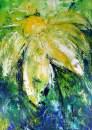 Margarite, Acryl 70x50cm