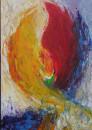 Entstehung, Acryl, 100x70 cm